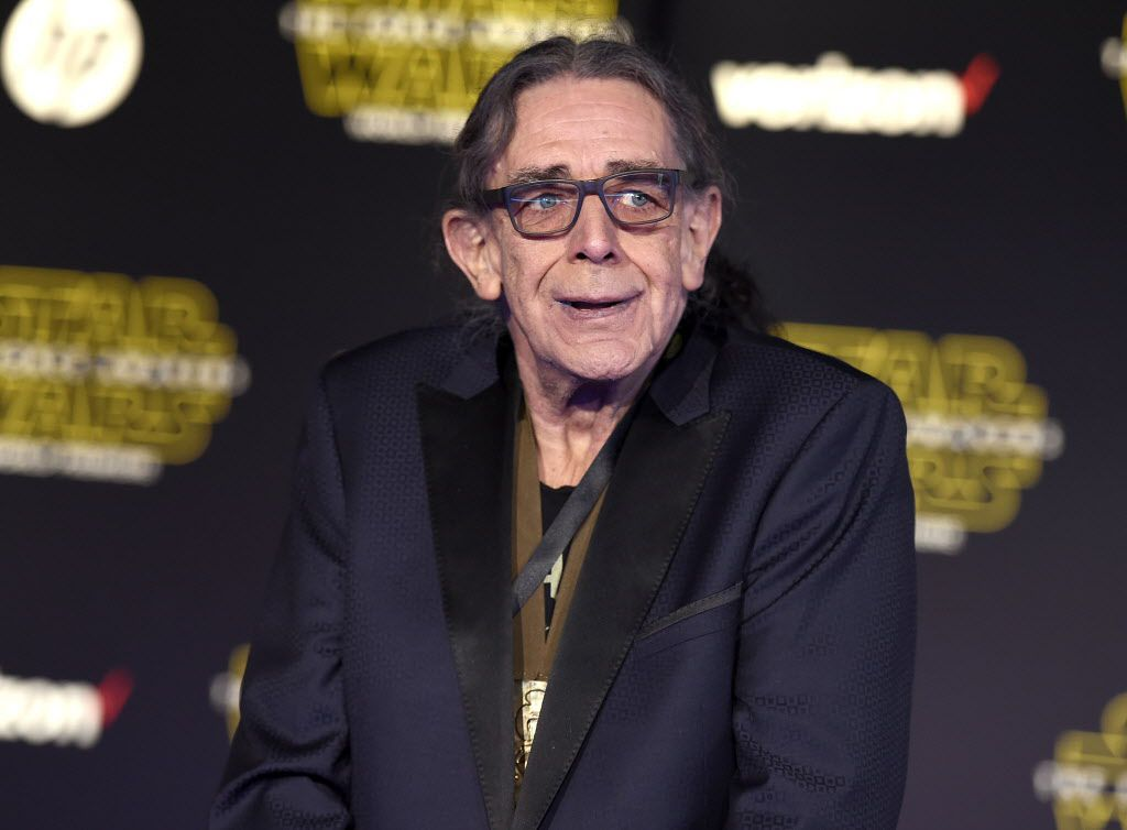 """Peter Mayhew arrives at the world premiere of """"Star Wars: The Force Awakens"""" at the TCL Chinese Theatre on Monday, Dec. 14, 2015, in Los Angeles. Mayhew plays the role of Chewbacca in the film."""
