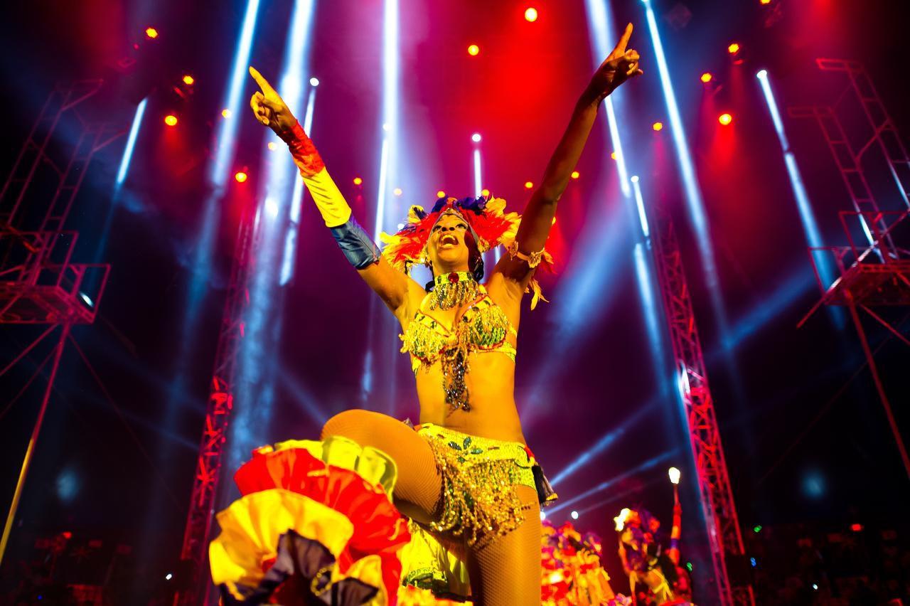 Artistas de países como Brasil, Trinidad y Tobago, Cuba, China y Colombia actúan en el circo Universoul, que llega a Dallas la próxima semana. (AFP/GETTY IMAGES/FOTOS: MLADEN ANTONOV)