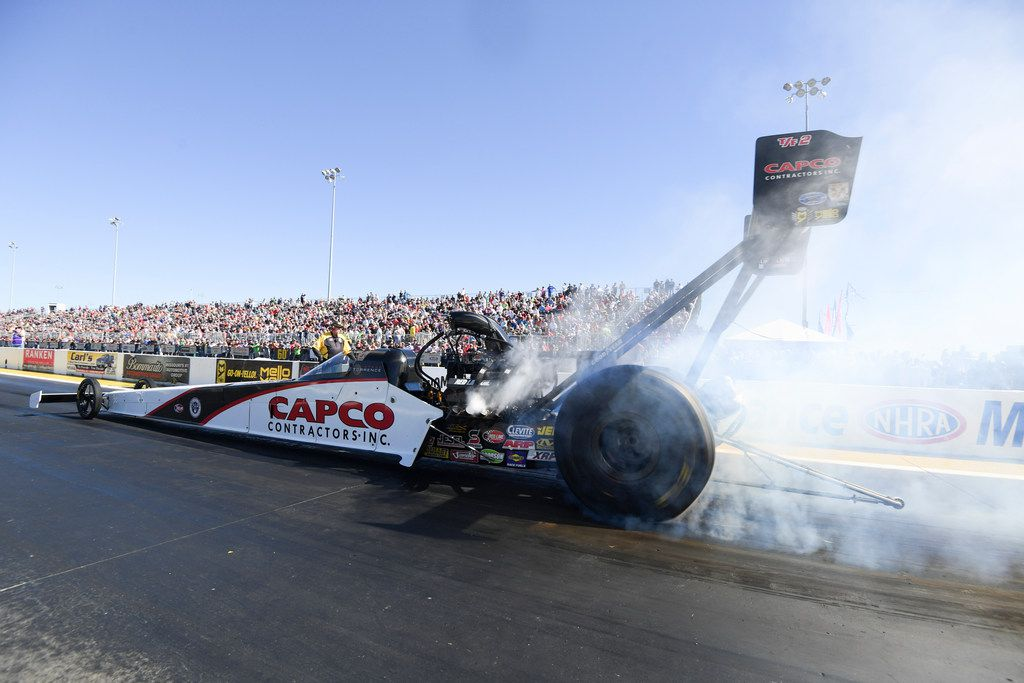 Top Fuel driver looks for home run at Ennis
