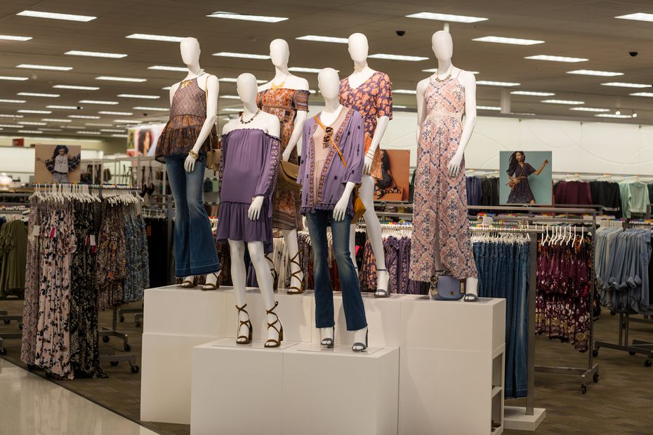 New mannequins in Target.
