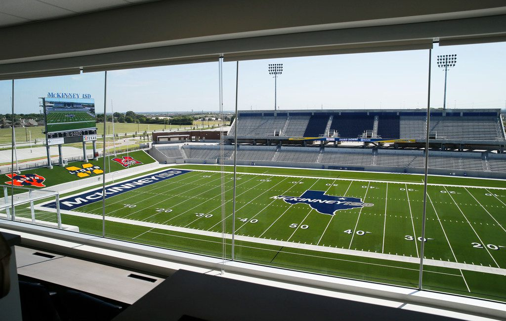 """McKinney ISD Superintendent Rick McDaniel says the new stadium is """"not about showing off.""""  The $69.9 million facility """"is about our kids and the future of McKinney ISD,"""" he said."""