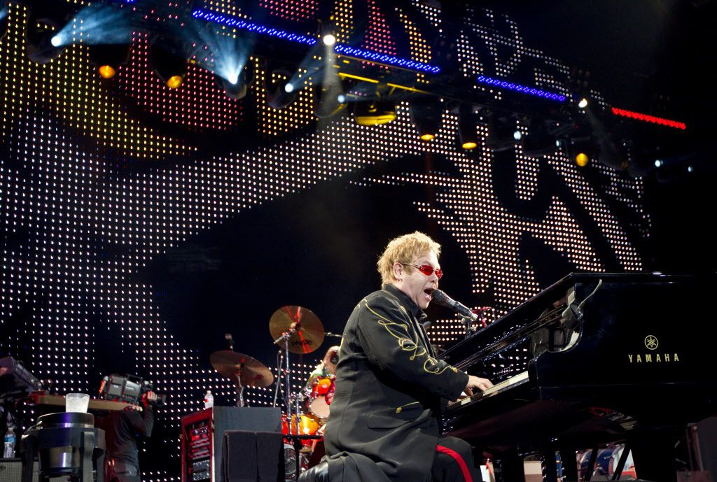 November 13, 2010: Elton John performs at the Fort Worth Convention Center.