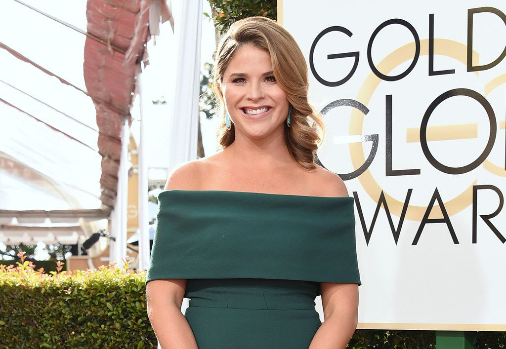 In this Jan. 8, 2017,photo, Jenna Bush Hager arrives at the 74th annual Golden Globe Awards at the Beverly Hilton Hotel in Beverly Hills, Calif.