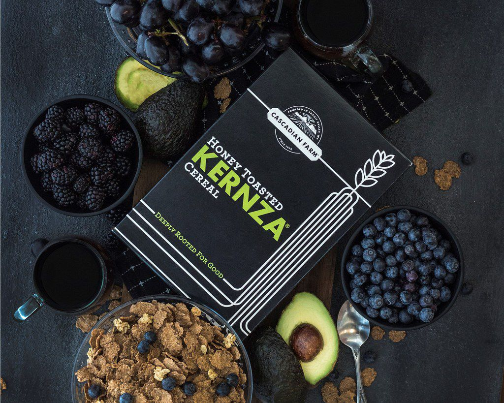 General Mills developed a Kernza cereal for its Cascadian Farm brand.