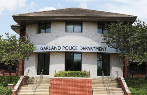 Los cuarteles principales del Departamento de Policía de Garland, en 1891 Forest Lane in Garland, Texas. (David Woo/DMN)