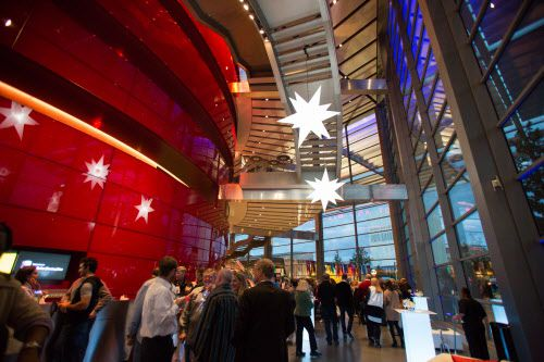 The interior of the Winspear Opera House, the centerpiece of the $360 million AT&T Performing Arts Center.