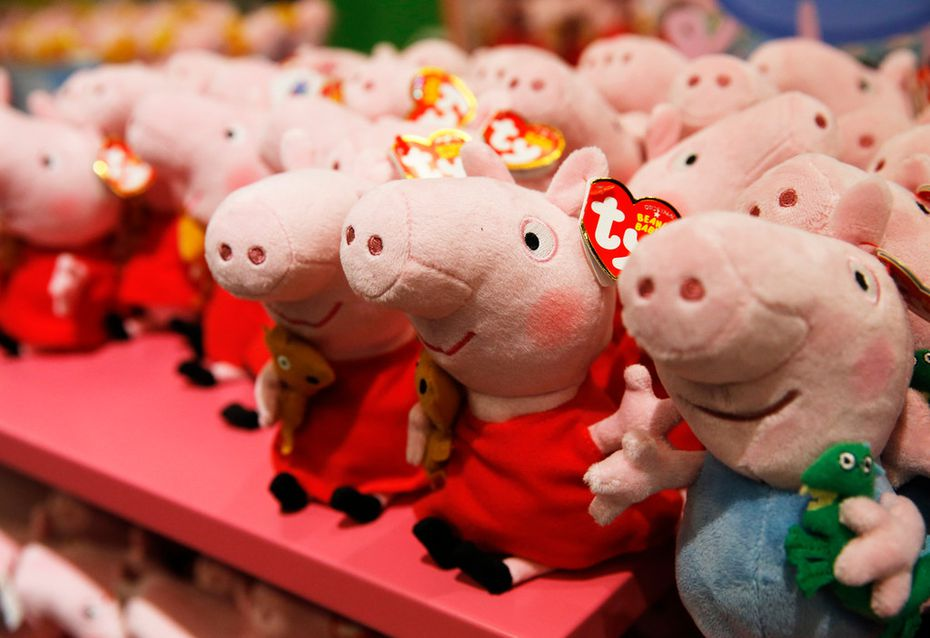 Anyone so moved by the Peppa exhibit can purchase all kinds of Peppa Pig paraphernalia. Beyond plush toys, the shop inside Grapevine Mills has clothing, games, hair bows, stickers and even Peppa bubble bath. (Price: $6.95. Not too bad.)