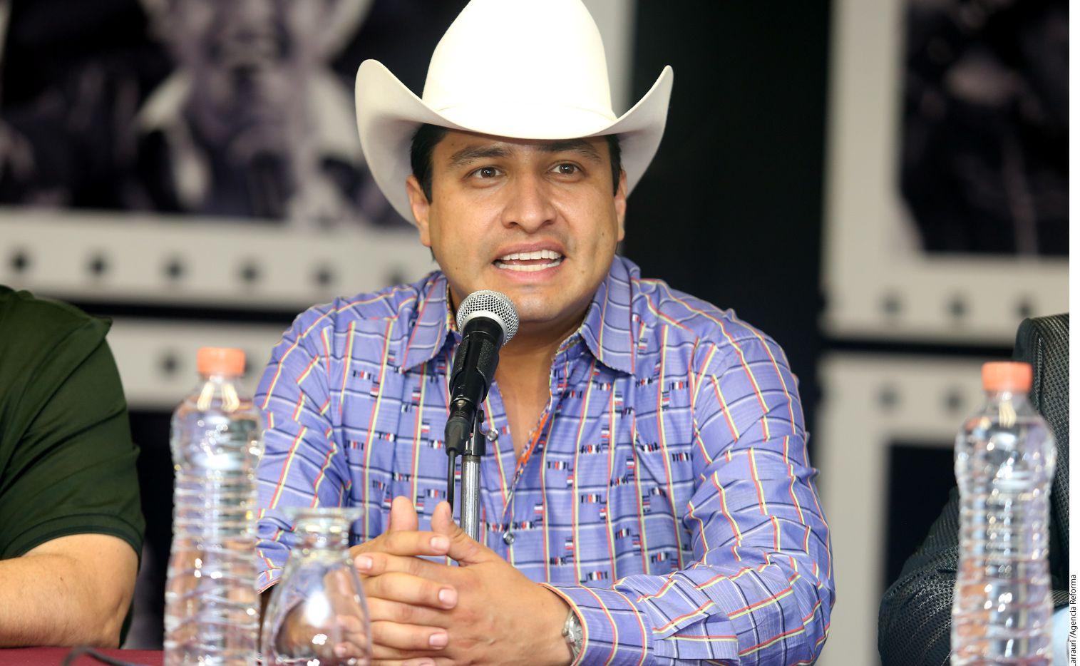 Julión  Álvarez anunció el arranque de su gira por Estados Unidos/AGENCIA REFORMA