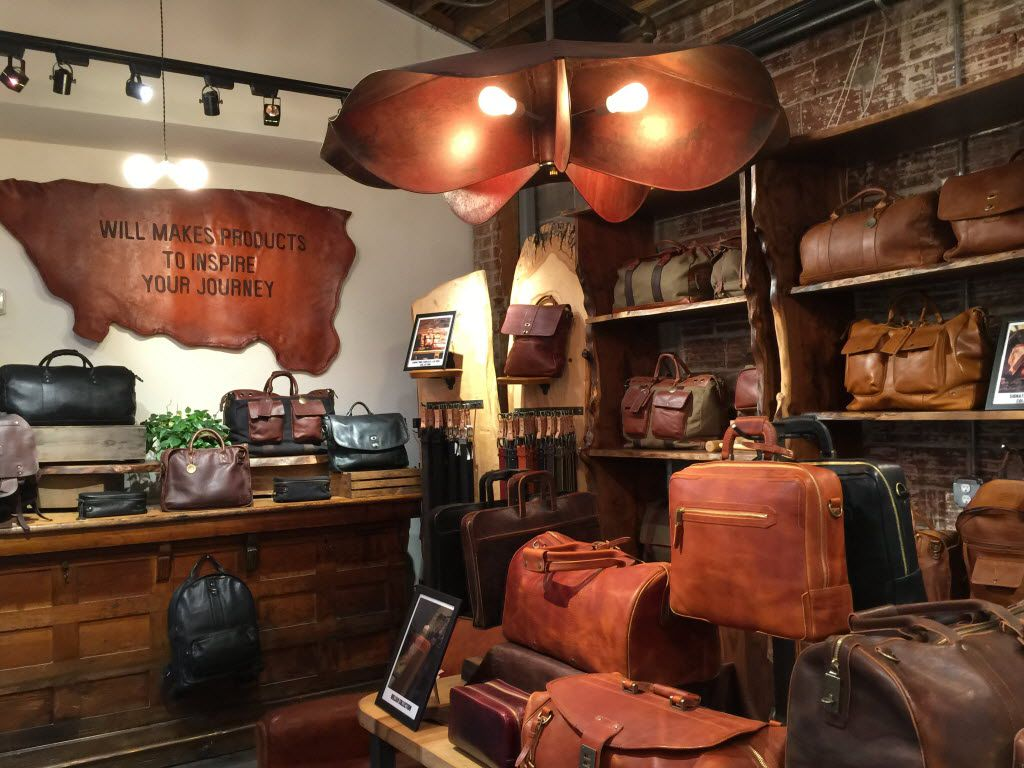 Will Leather Goods began in Oregon and now has stores across the USA, including this popular one in Portland.