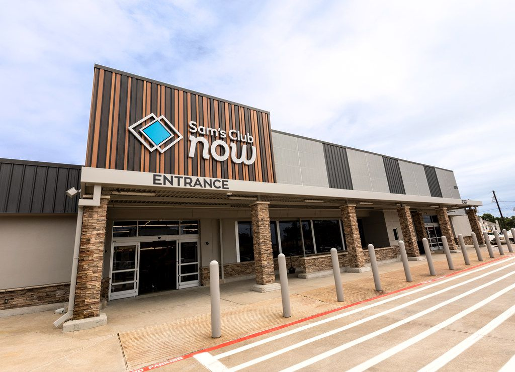 Sam's Club Now will open in November at 2218 Greenville Ave. in Dallas. The building has been empty since January 2016 when the Walmart Neighborhood Market closed.