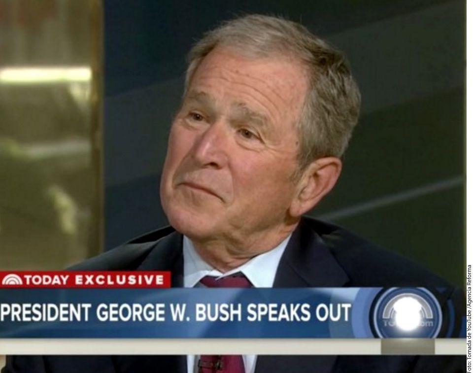 Ex Mandatario George W. Bush dijo que los medios son indispensables para la democracia; es decisivo que expongan a los que abusan del poder./ AGENCIA REFORMA
