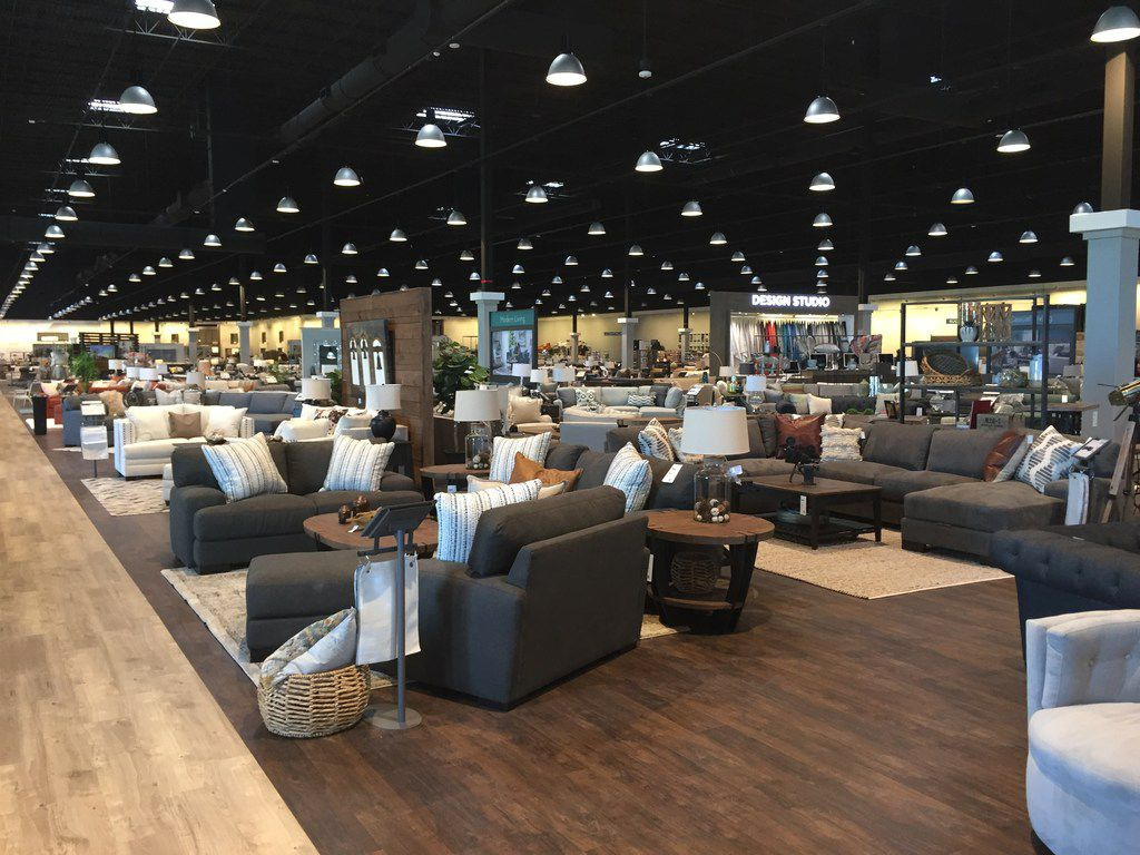 California-based Living Spaces opened its largest store in the chain of 22 stores in Grand Prairie at 1514 Arkansas Lane on Friday, May 17, 2019.