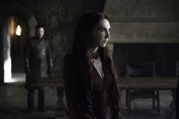 That little issue Melisandre kept dodging this season finally caught up to her.