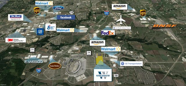 Stream Realty Partners' new industrial park is on State Highway 114 near Alliance Airport.
