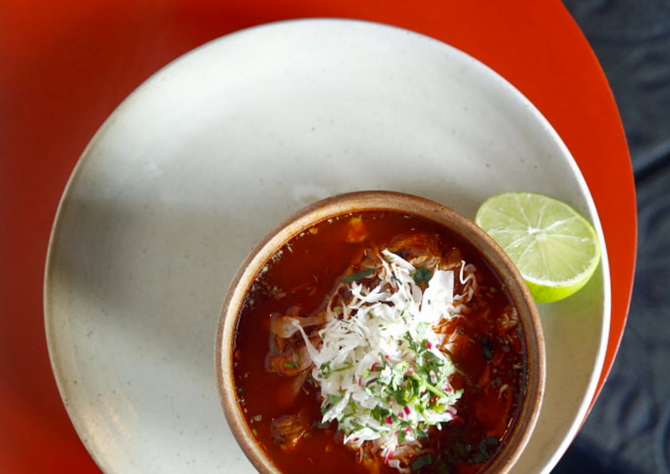 Meso Maya's posole rojo is one of its best dishes, Leslie Brenner said in 2012. Meso Maya opened a new restaurant in Lakewood on Aug. 15.