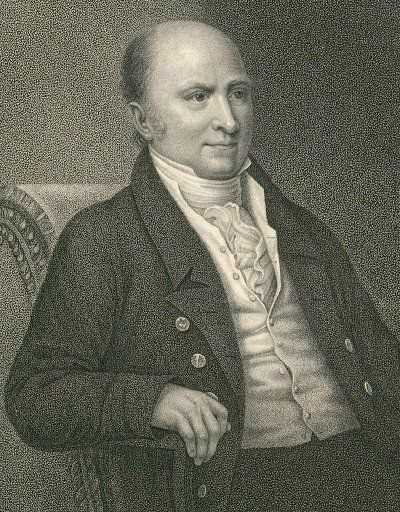 This circa 1824 engraving by Francis Kearney released by the Massachusetts Historical Society shows John Quincy Adams, the sixth president of the United States, from 1824 to 1829.