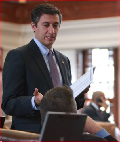 State Rep. Giovanni Capriglione, R-Southlake, introduced a roofers bill.