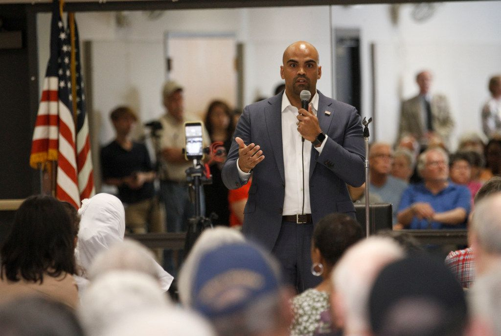 """Rep. Colin Allred, D-Dallas, disagrees with the decriminalization plan, saying that """"people coming to the U.S. should do so legally and responsibly."""