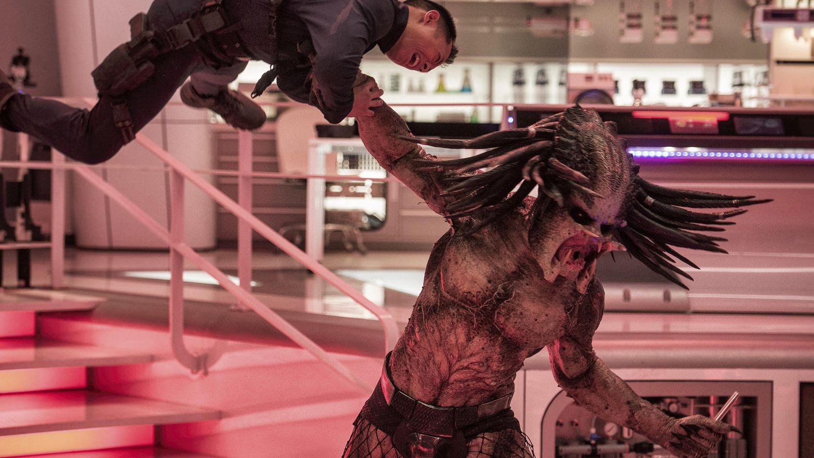 """Una escena de la película """"The Predator"""", del director Shake Black, que se estrenó el viernes.(20th Century Fox)"""