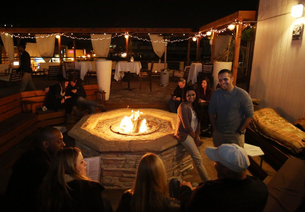Nora Restaurant's rooftop bar is one of the best perches in Dallas.