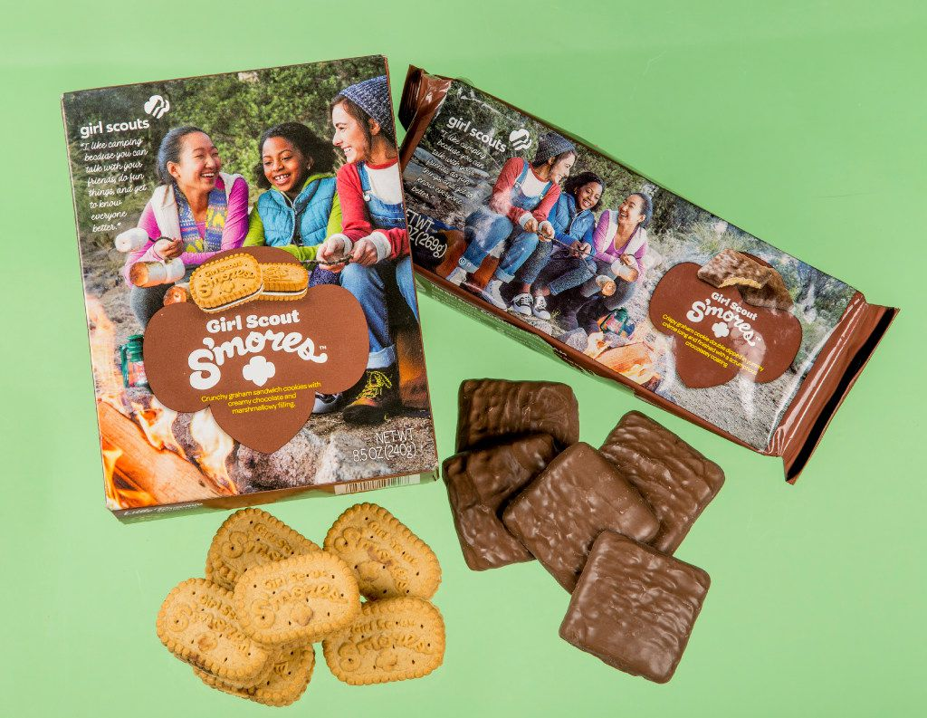 S'mores Girl Scout Cookies in New York. After 100 years of selling cookies, the Girl Scouts have come up with two new flavors. It may seem odd that it took a century when the inspiration was right under their noses: s'mores. (Tony Cenicola/The New York Times)