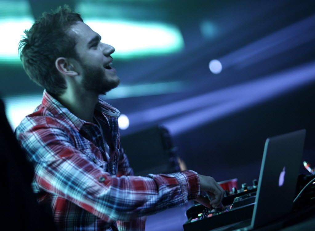 Zedd performs during the Lights All Night festival at the Dallas Convention Center in Dallas, TX, on Dec. 26, 2014.