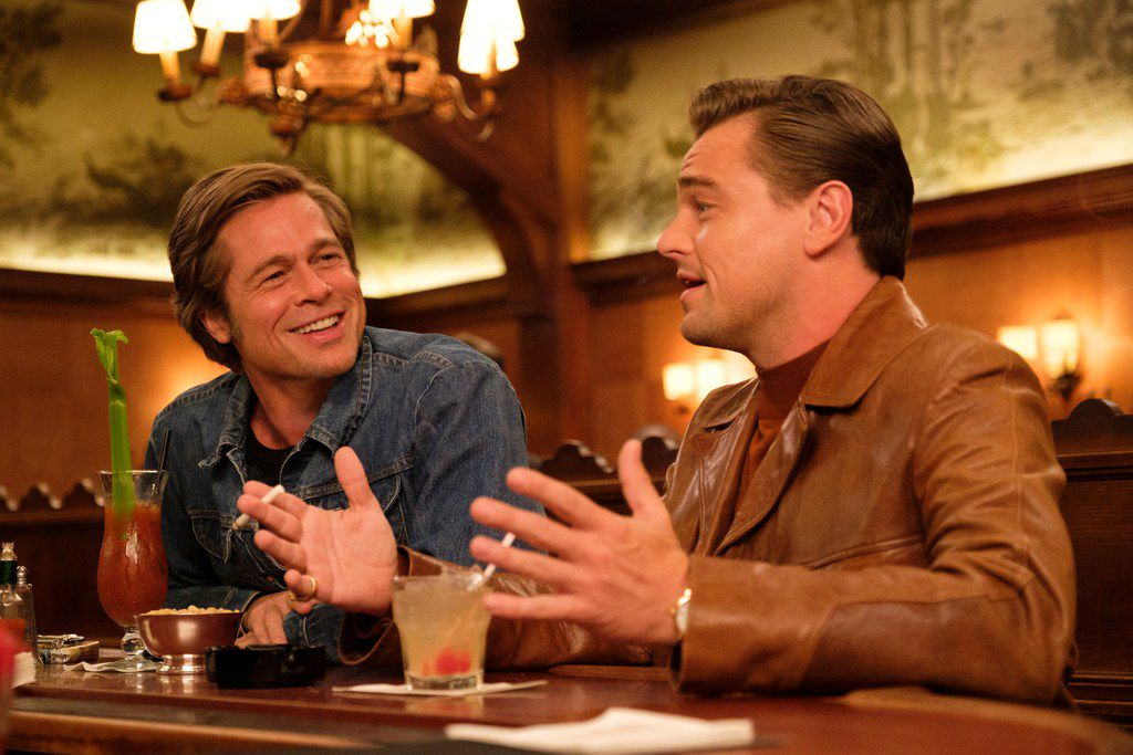 Brad Pitt and Leonardo DiCaprio star in Once Upon a Time ... in Hollywood.