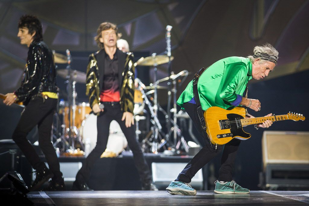 The Rolling Stones performed at AT&T Stadium on Saturday, June 6, 2015, in Arlington as part of their Zip Code Tour of North America.