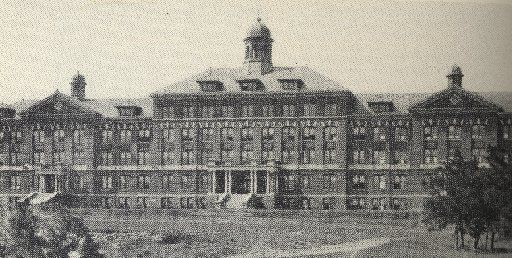 The Holy Trinity College, later Jesuit High School, occupied the site of Turtle Creek Village before it was knocked down in the early 1960s.