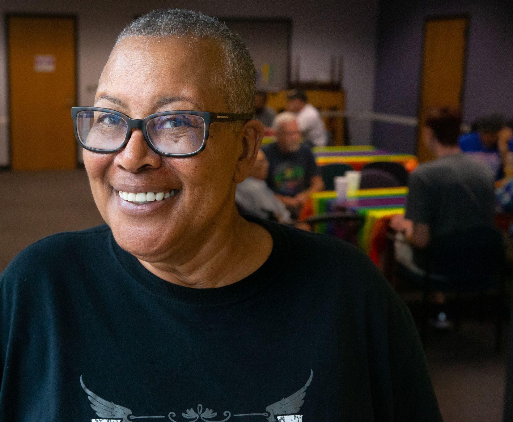 Silver Pride Project coordinator Portia Cantrell moved to Dallas six years ago.