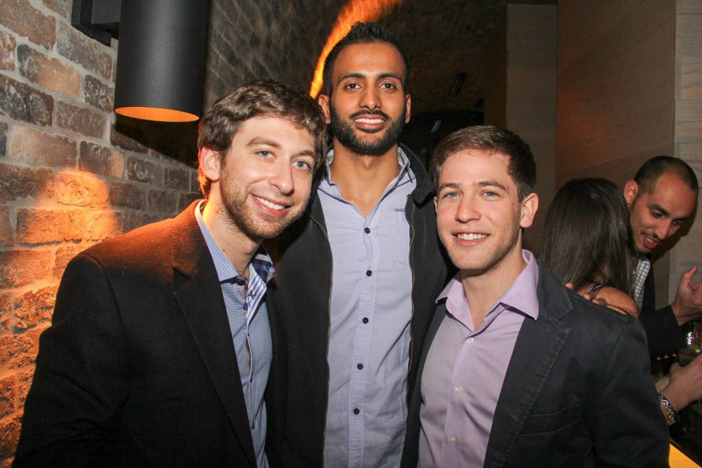 Aaron Zack, Andy Pande and Dani Kachel attended  the party.