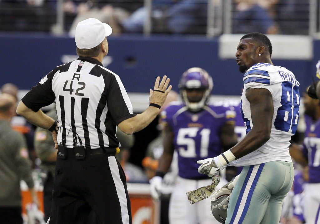 Dez Bryant I Wasn T Angry With The Ref I Didn T Know I