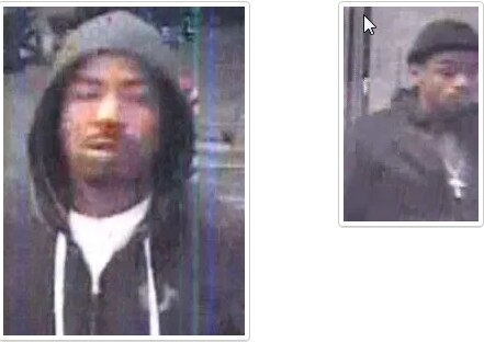 On Tuesday, police released surveillance images of two alleged credit-card abusers who may be linked to a death investigation.