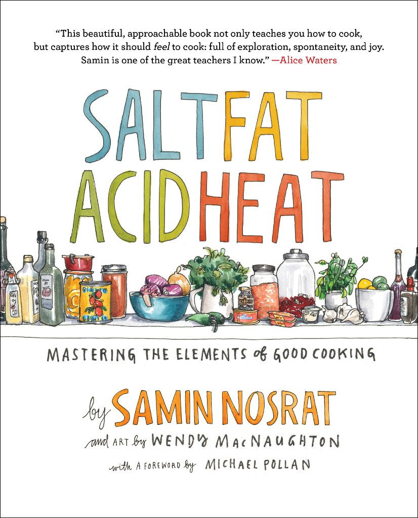 'Salt Fat Acid Heat' by Samin Nosrat