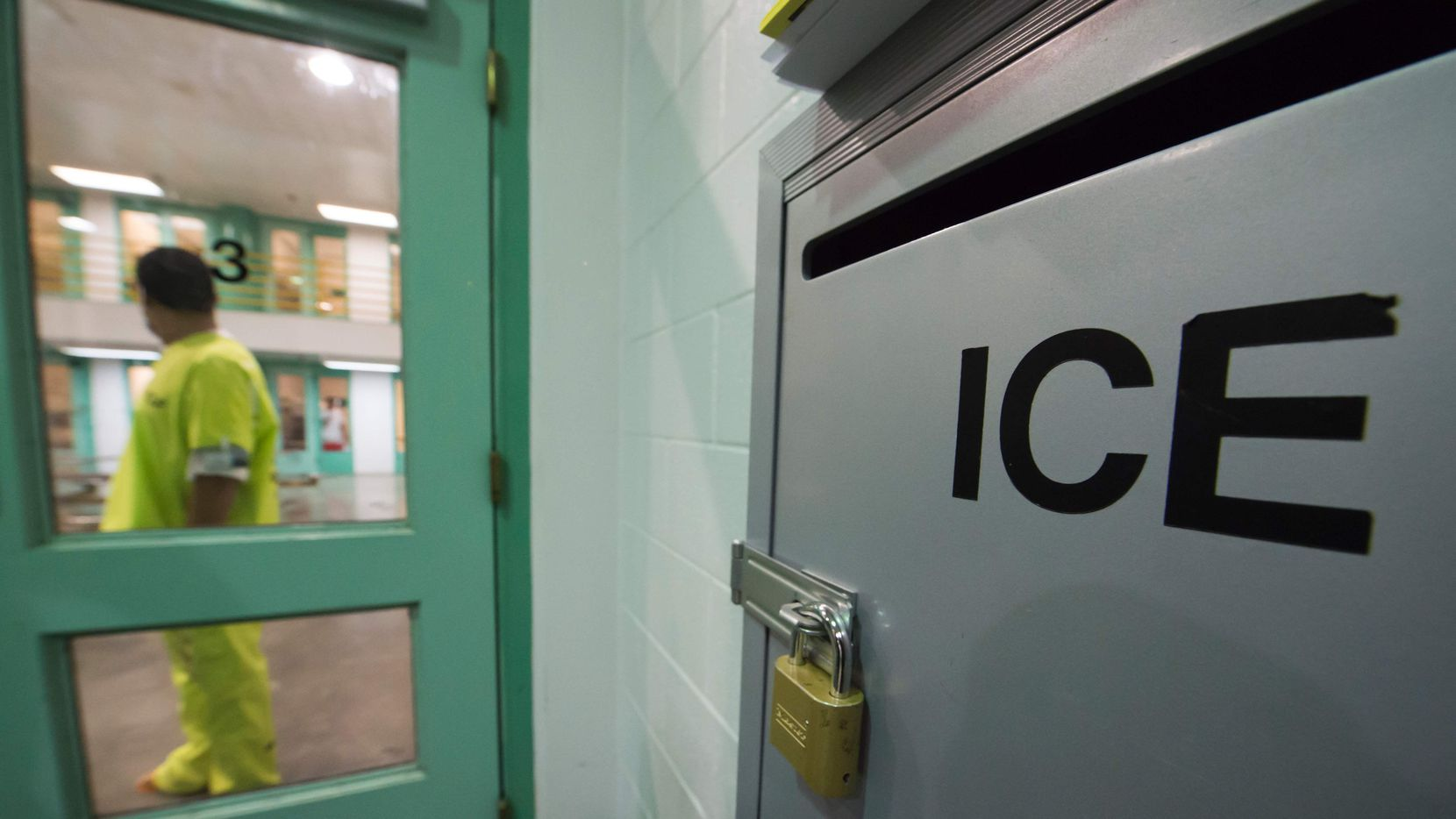 Centro de detención de ICE en Orange Califormia.(GETTY IMAGES)