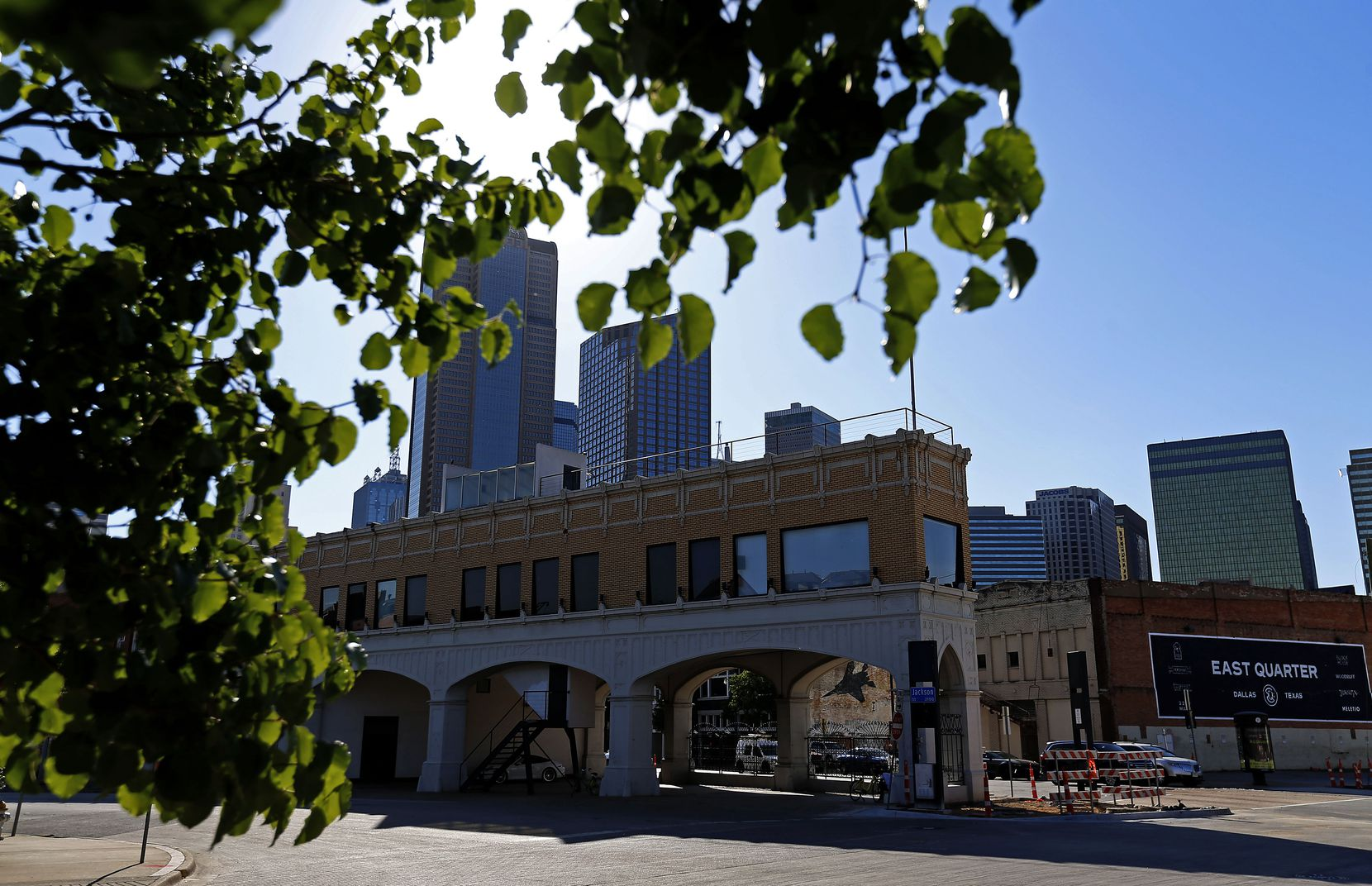 A neighborhood of old buildings on downtown Dallas' east side is getting a makeover.