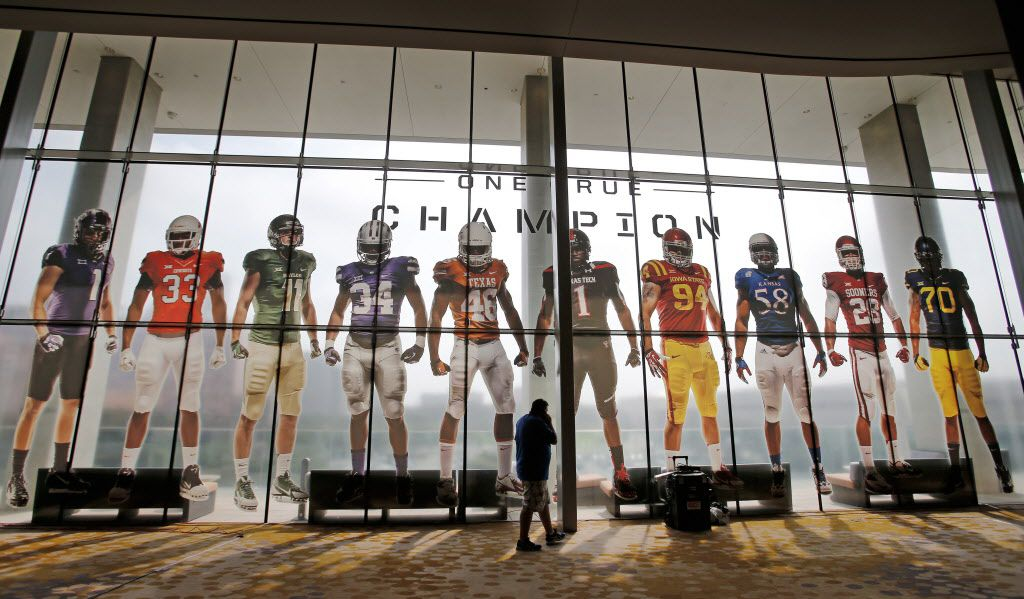 The NCAA and helmet maker Riddell are defendants in separate class-action lawsuits alleging they failed to protect football players from long-term head injuries and didn't educate them about the risks. The Big 12 Conference was listed as co-defendant with the NCAA