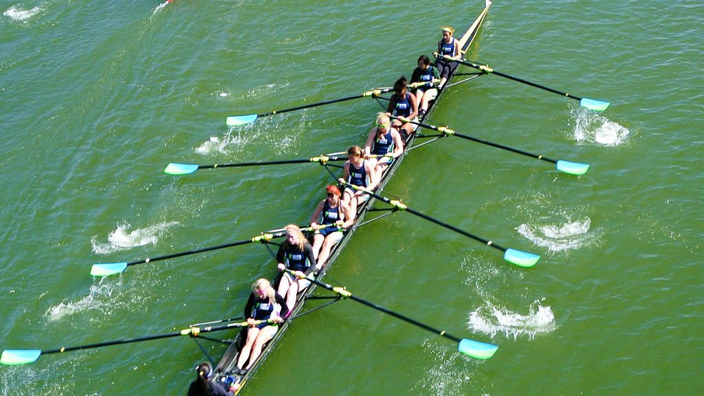 White Rock Rowing and Dallas United Crew are among the tenants of White Rock Lake's boathouse.