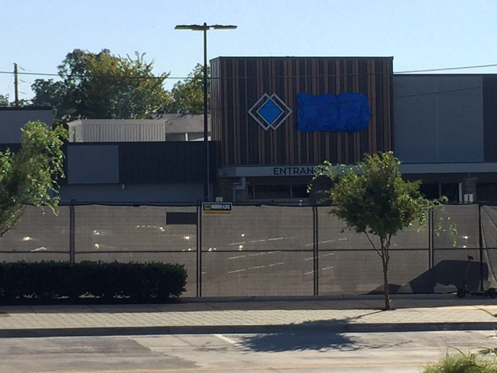 Sam's Club under construction in the former Walmart Neighborhood Market at 2218 Greenville in Dallas.