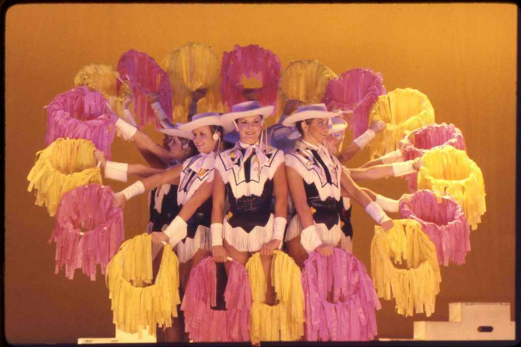 David Byrne's film True Stories was shot in seven North Texas counties in the fall of 1985. The Tyler Junior College Apache Belles performed on stage in the film's Celebration of Specialness, a.k.a. talent show, which was shot in Sterrett (now incorporated into Waxahachie).