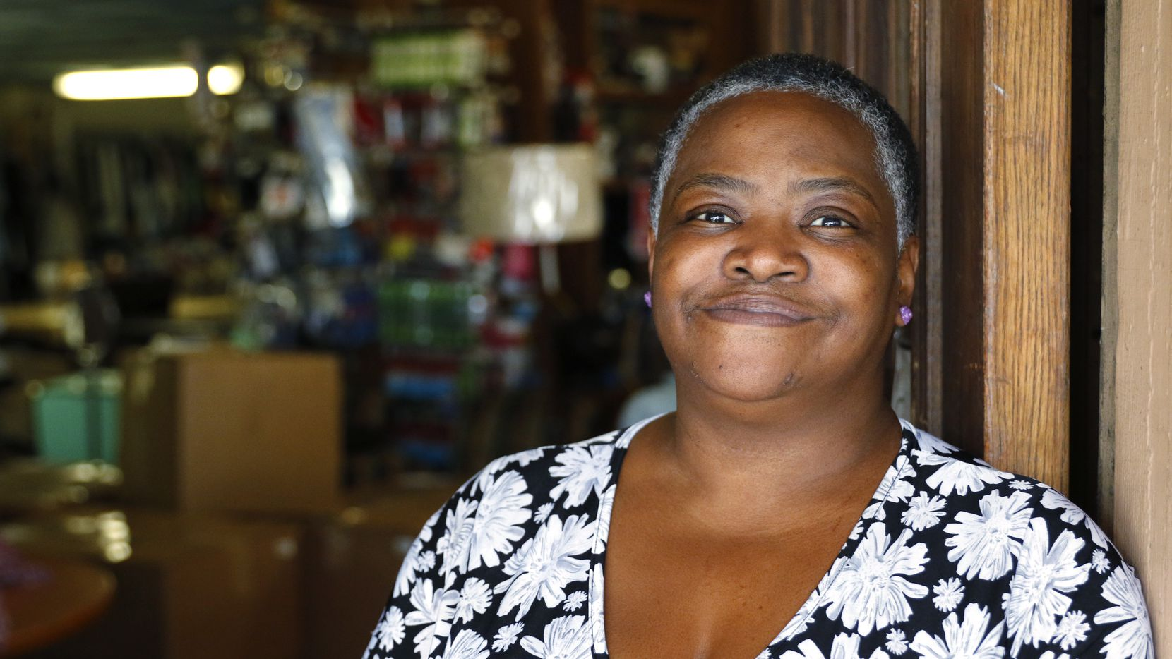 Angela Jessie  spent two months in the Dallas County jail on a shoplifting charge.