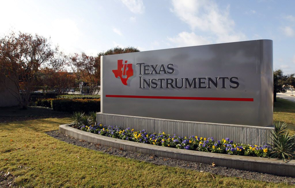 Texas Instruments headquarters located in north Dallas off LBJ Freeway and Interstate 75.