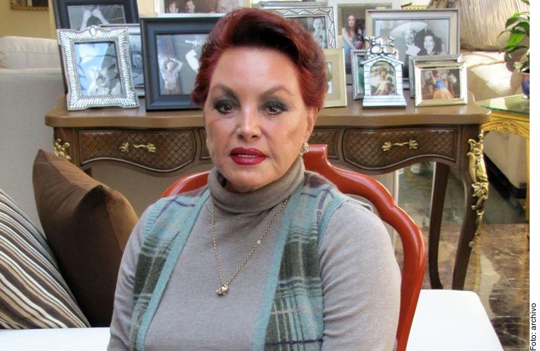 La actriz, sobrina de Pedro Infante, tenía 75 años de edad.
