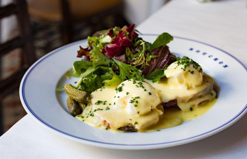 Eggs Benedict is a breakfast specialty at Bouchon Bistro in Vegas