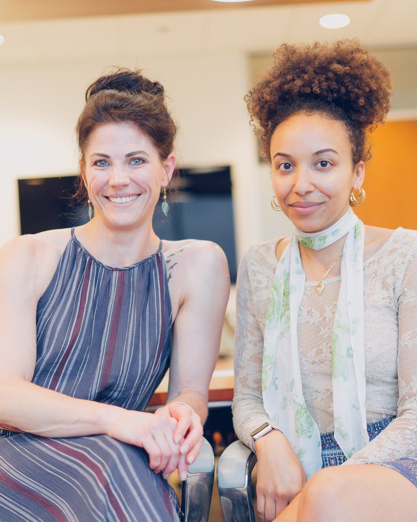 Laura Thornthwaite and Gabrielle Reyes own Viridescent Kitchen, a vegan restaurant and event space opening July 27.