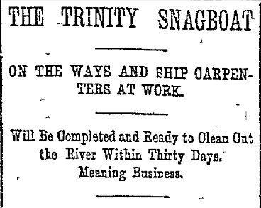 The Dallas Morning News in November 1892.