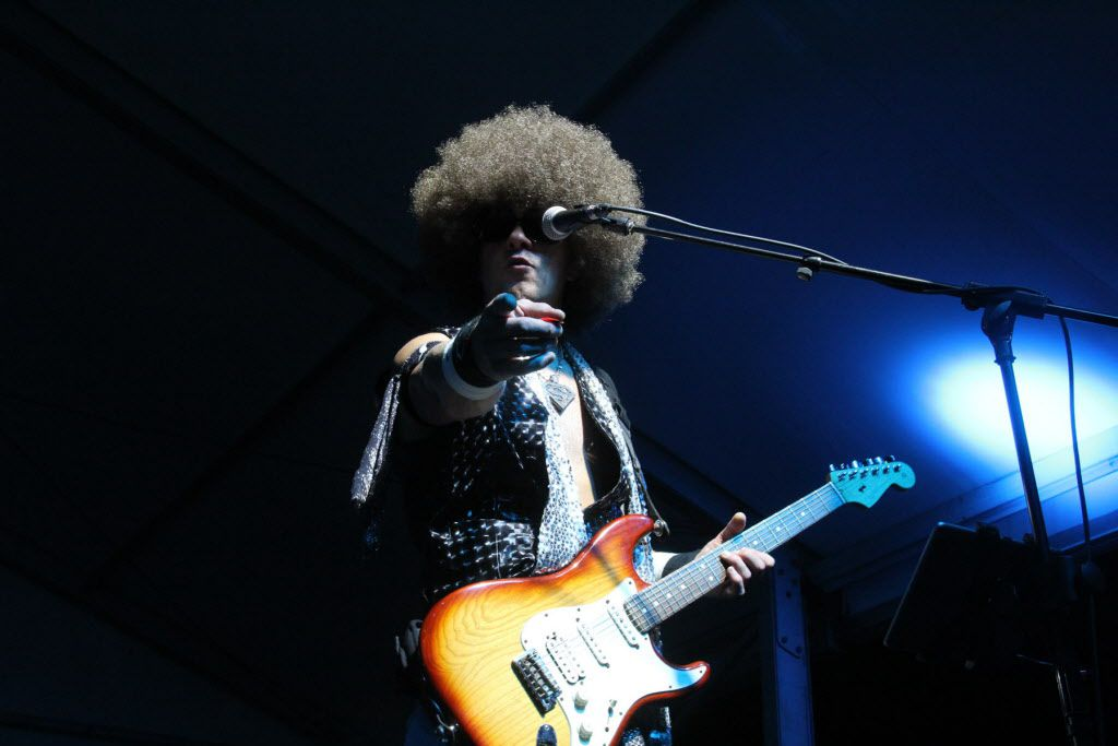 Marvin Jackson and Le Freak performed at the AT&T Byron Nelson after party on Saturday.