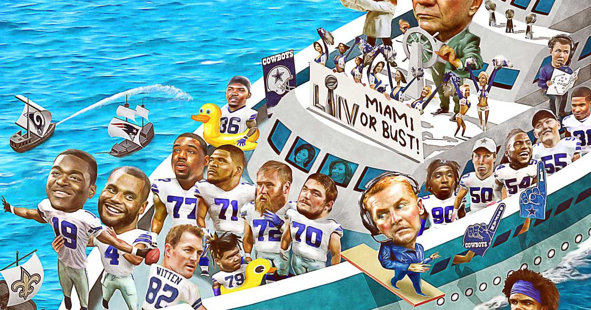 Sink or swim: If Jerry Jones' talented crew doesn't make a voyage deep into the postseason, there will be consequences