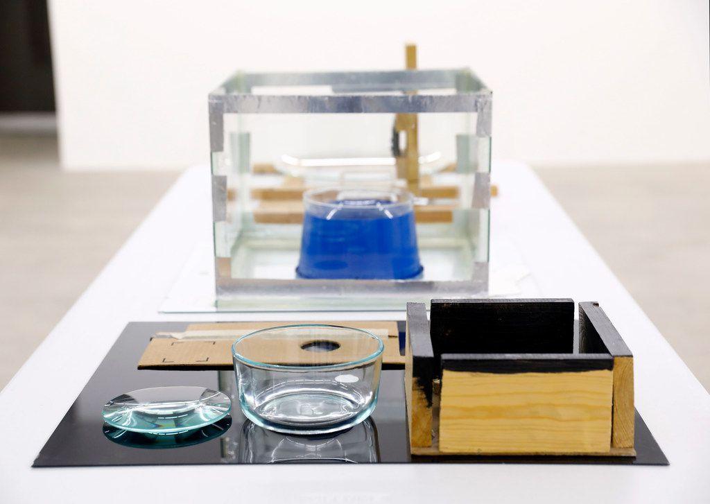 Artist Brian Fridge's 'Objects v. 1' mixed media piece