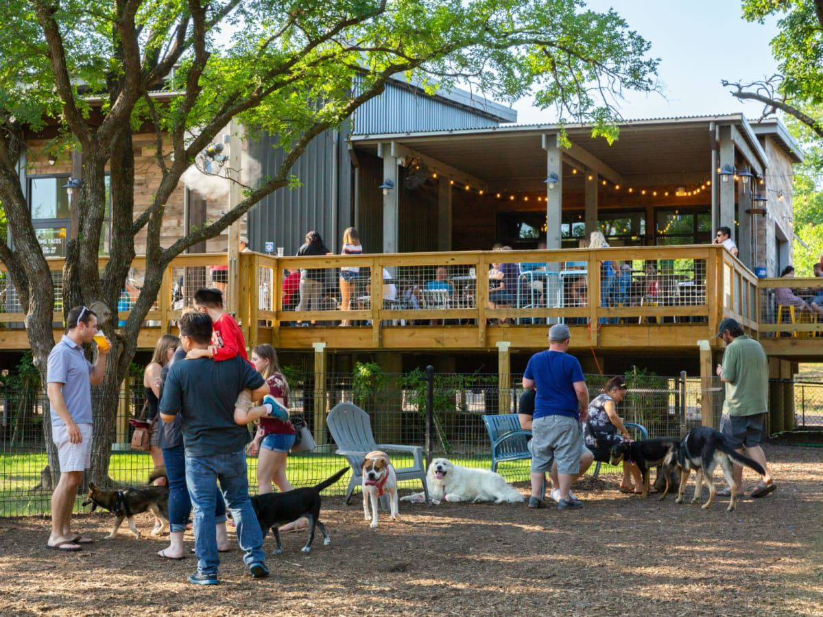 GRRROWLER'S TAP ROOM and Beer Garden has opened at The Shacks at Austin Ranch, which will celebrate its first anniversary Saturday.